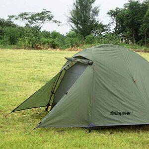 広い前室 2人用 テント タープスペース 自立式 ソロ キャンプ コンパクト 軽量 ツーリング アウトドア BBQ 防災
