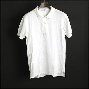 Yohji Yamamoto POUR HOMME ヨウジヤマモトプールオム 11SS ファスナーワッペンポロシャツ メンズ ホワイト 1