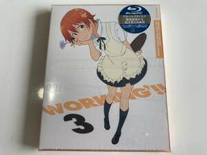 Blu-ray ◇未開封◇「WORKING'!! 3(完全生産限定版)」 セル版 BD ブルーレイ