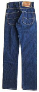 美品 ITALY製 ディーゼル 希少 小さいサイズ インディゴ デニム  ジーンズ W24 DIESEL MOD FELLOW 濃紺 イタリア製 ボタンフライ 玉3105