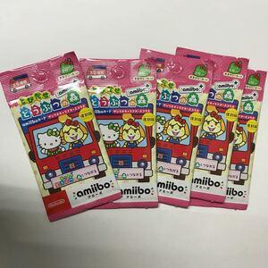 とびだせ どうぶつの森 amiibo+ サンリオキャラクターズコラボ 5パック  新品未開封
