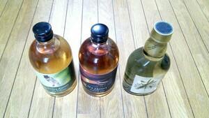 国産ウイスキー 3本セット 新品未開封 500×2 350×1