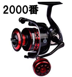 Z301 送料無料 フィッシング リール 遠投 スピニングリール 2000番 釣り 海水 淡水 ギア比:5.1:1 最大ドラグ力8KG 3+1BB ハンドル左右交換