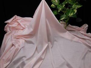 新入荷!掘り出し品!高級ブランド!なかなか手に入らない!シルケット加工!艶有最高級糸細上質綿100%ニットネールピンク170cm広巾!×1,5m