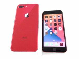 111s●docomo ドコモ iPhone 8 Plus MRTL2J/A 64GB (PRODUCT)RED レッド 本体 バッテリー81% ※中古/利用〇