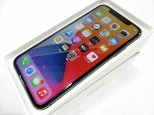 111s●au iPhone X 256GB MQC12J/A スペースグレイ バッテリー最大容量:81% 本体のみ ※中古/利用○