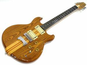 092s☆Kasuga カスガ Scorpion ナチュラル 春日楽器 エレキギター ※中古