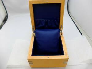 TAG Heuer wooden BOX navy blue unused