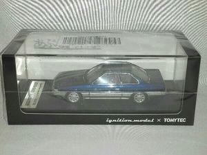 イグニッションモデル×トミーテック 1/43 T-IG4305 日産 レパード アルティマ(紺) またまたあぶない刑事
