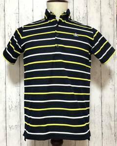 【le coq sportif golf】ルコック ゴルフ ゴルフウェア ポロシャツ 半袖 メンズ Mサイズ 送料無料!