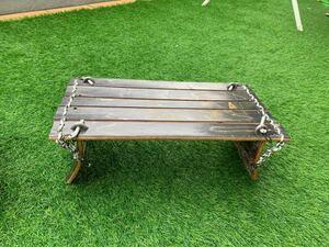 ローテーブル ロールトップ ソロテーブル