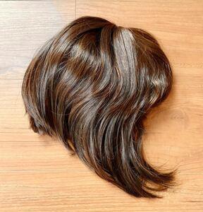 茶髪 ボブ ショートヘア ショートカット フルウィッグ