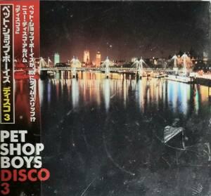F65新品日本盤/送料無料■ペットショップボーイズ(PetShopBoys)「ディスコ3」CD/歌詞、対訳、解説付き定価¥2000