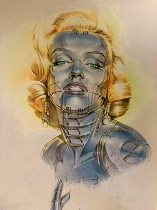 SORAYAMA Sexy Robot Marilyn #2 検 NANZUKA 空山基 村上隆 奈良美智 五木田智央 荒木経惟
