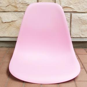 【未使用品】 イームズ シェルチェア 座面部品 椅子 Eames チェア イス DSWチェア Chair 家具 DSR ダイニング オフィスチェア ピンク