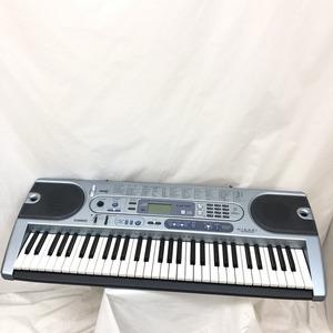 中古 CASIO カシオ 電子キーボード LK-41 61鍵盤 光ナビゲーション 電子キーボード 鍵盤楽器 アダプター付き H14962