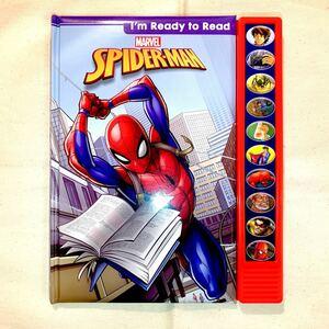 【新品】マーベル スパイダーマン 朗読付き英語絵本 知育絵本 ディズニー 洋書