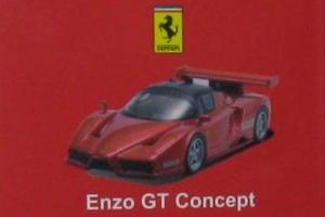 京商 フェラーリ エンツォ Enzo GT コンセプト メタリックレッド メタ赤 Ferrari 1/64 新品 未開封