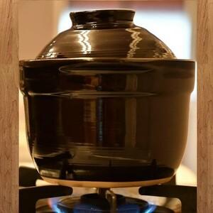 電子レンジで炊ける!! 1合 炊き 炊飯 土鍋 陶器 ガス火対応 ごはん 一人暮らし キャンプ 飯盒