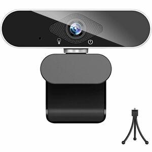 高性能 ウェブカメラ フルHD 1080P 高画質 200万画素 webカメラ マイク付き usb ノイズ対策 オートフォーカス