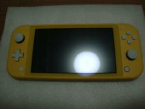 ★ 送料無料 Nintendo Switch Lite イエロー ニンテンドースイッチ ライト 液晶フィルム付き ★
