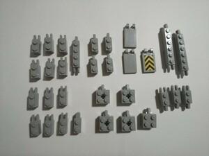 A247 旧灰 灰色 グレー ジョイントパーツ種類色々 大量 約31個 レゴパーツ LEGO