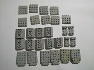 A266  旧灰 灰色 グレー 特殊パーツ 大量 約28個 レゴパーツ LEGO