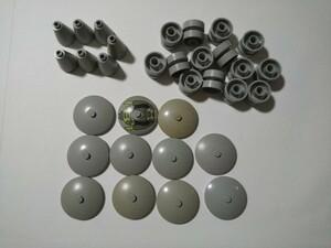 A276  旧灰 灰色 グレー 丸系特殊パーツ 大量 約32個 レゴパーツ LEGO