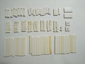 A420 白色 ホワイト つるつるタイルパーツサイズ色々 大量 約137個 レゴパーツ LEGO