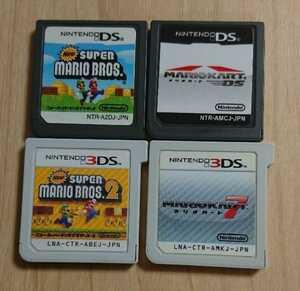 ニュースーパーマリオブラザーズ 1 2 マリオカート DS 7 セット