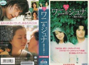 ワニ&ジュナ ~揺れる想い~ 日本語吹替版 キム・ヒソン×チュ・ジンモ VHS