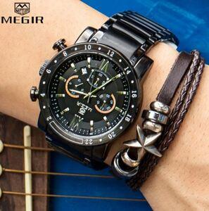 ★★メンズ腕時計 スポーツ腕時計 クロノグラフ ファッション腕時計 MG A010