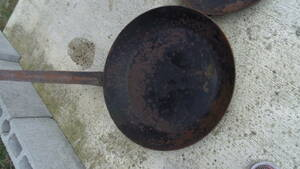 業務用 鉄 フライパン超特大45㎝ サイズ大小多数出品してあります。