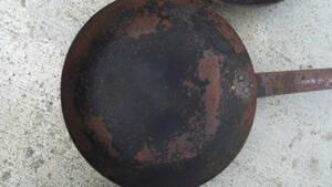 業務用 鉄 フライパン大34㎝ サイズ大小多数出品してあります。