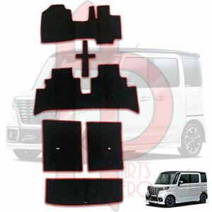 новая модель   Spacia   напольный коврик   custom   коврик  MK53S  багаж  коврик   к  оценка  коврик   полный   коврик   черный  x  красный  край  FM0304305BK-TS