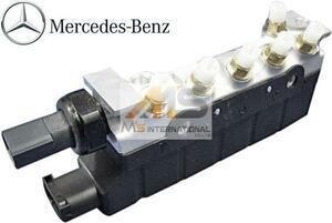 【M's】W220 Sクラス (1998y-2005y) 純正品 エアサスバルブブロック BENZ 正規品 ベンツ AMG S320 S350 S430 S500 220-320-0258