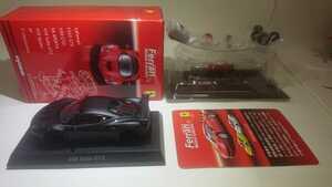 京商 1/64 フェラーリ 9 458 Italia GT2 マット ブラック Ferrari Ⅸ mat black 黒 カルワザ 限定 レッドシート