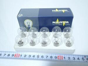 εCK14-199 NARVA ナーバ ハロゲン バルブ 12V 21/5W BAY15d 10個入 未使用品!
