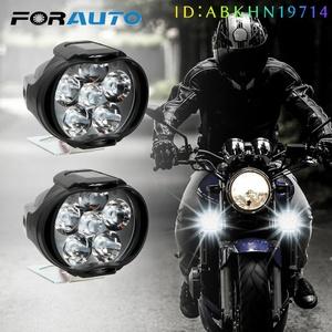 バイク ヘッドライト フォグランプ スポット かっこいい おすすめ カスタム 汎用 4