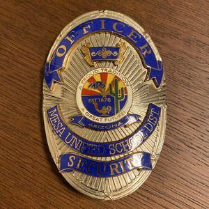 Реальный значок Arizona Mesa American Police Security Badge США