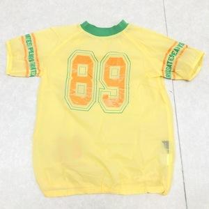 美品 PEARLY GATES パーリーゲイツ 撥水 ゴルフシャツ 1(M) 黄色 イエロー レディース 半袖 国内正規品