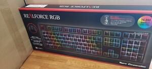 未開封 東プレ Realforce RGB R2A-JP4G-BK ゲーミングキーボード 日本語配列