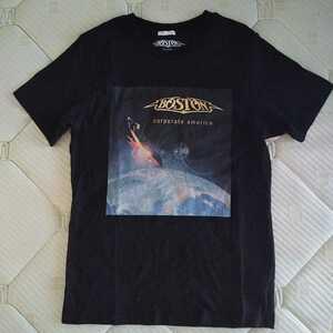 GU/メンズ/キッズ/Sサイズ/Tシャツ/BOSTON/宇宙 送料210円