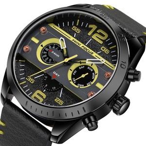 新品 新作 腕時計 メンズ腕時計 アナログ クォーツ式 クロノグラフ ビジネスウォッチ 豪華 高級 人気 ルミナス 防水★UTF07-03★