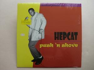*【LP】HEPCAT/push n' shove(80419-1)(輸入盤)シュリンク付