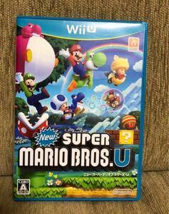 【新品未使用】WiiU超人気ソフト ニュースーパーマリオブラザーズU 任天堂 マリオ WiiUソフト スーパーマリオ ルイージ