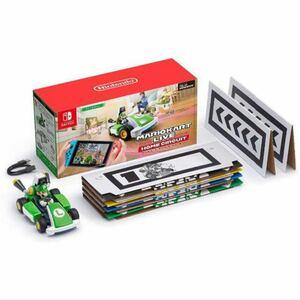 Amazon.co.jp限定 マリオカートライブホームサーキット ルイージセット 収納巾着バッグ同梱 新品未使用未開封品