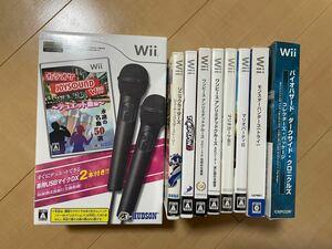 Wiiソフト 期間限定まとめ売り マリオ カラオケJOYSOUND Wiiなど