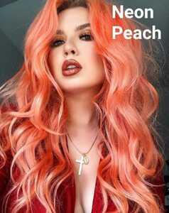 【Neon Peach】ライムクライム★ユニコーンヘアカラー 200ml lime crime 検マニックパニック カラーバター