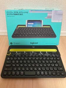 ワイヤレスキーボード Logicool K480BK iPad